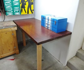 Easy Collapsible Worktable