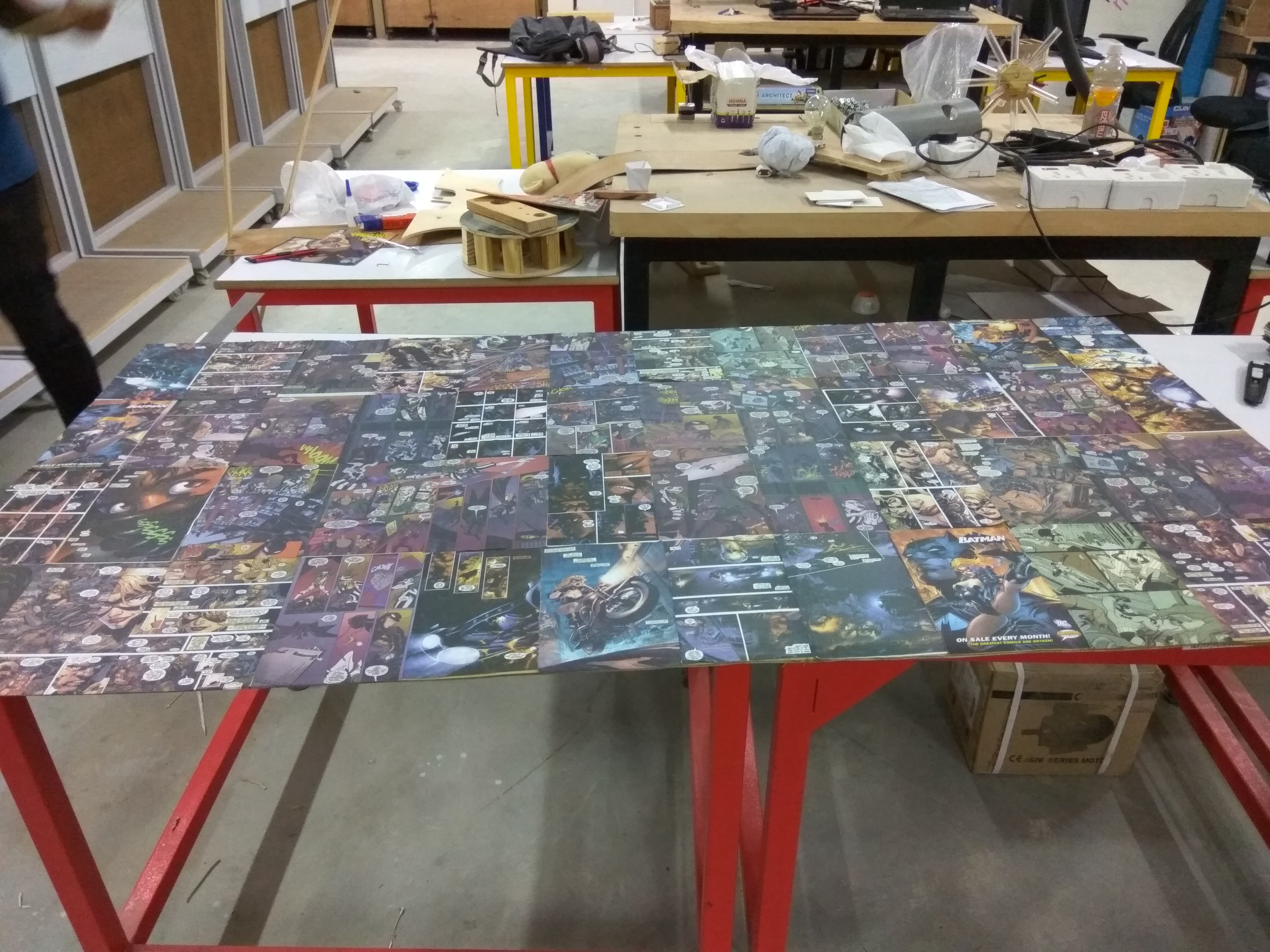 Picture of Making Base Frame
