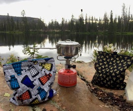 "Backpacker's Camp Meal ""Cozy"" and Drink Cooler"