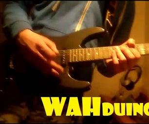 Wahduino - WahWah by Shaking/raise the Guitar