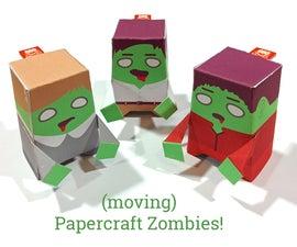 Papercraft Zombies