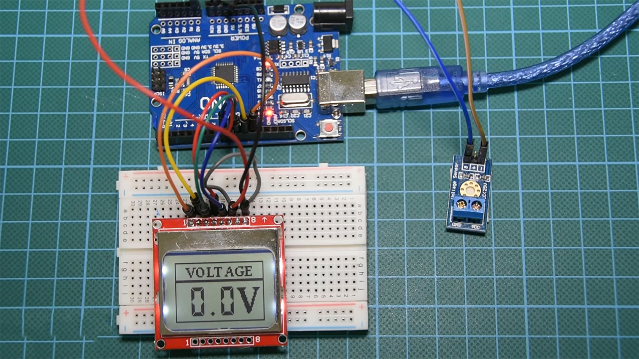 Picture of Building the Voltmeter