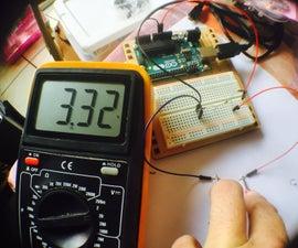Bajar De 5v a 3.3v (Divisor De Voltaje)