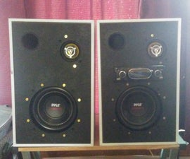 DIY Bookshelf Speakers! <3