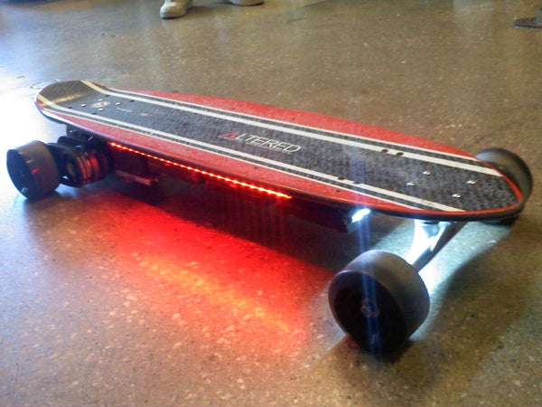 Electric Longboard Build & Clever CIM Motor Drivetrain