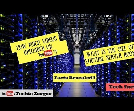 Youtube Server Room | Server Size | How Much Videos | Facts Revealed.