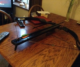 How to make a full-size lethal crossbow!