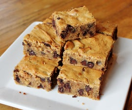 Lazy Flourless Cookie Bars