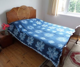 "Batik ""Potato Masher"" Duvet Cover"