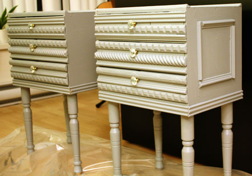 Picture of DIY Anthropologie-inspired Bedside Tables