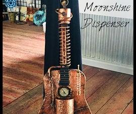 Steampunk Guitar Art( Moonshine Dispenser)