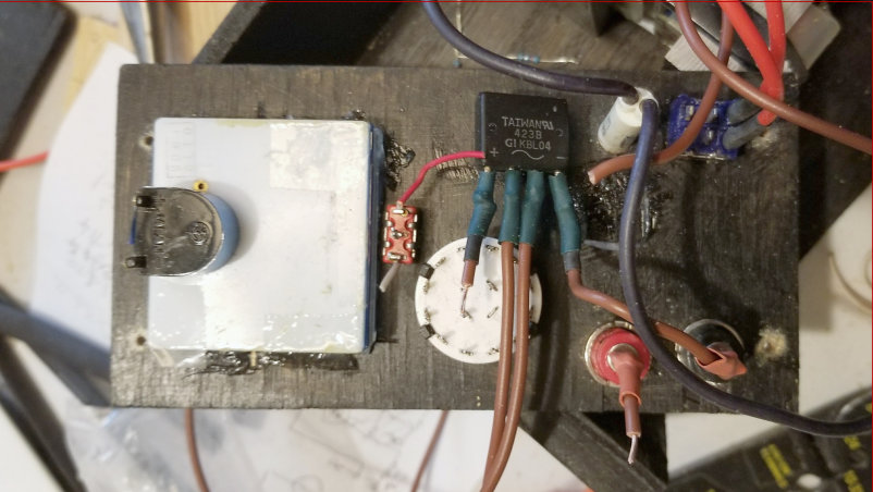 Picture of Wiring the Front Panel Selector Switch