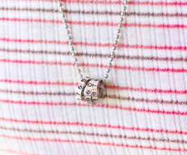 Recycle Combination Lock into Necklace