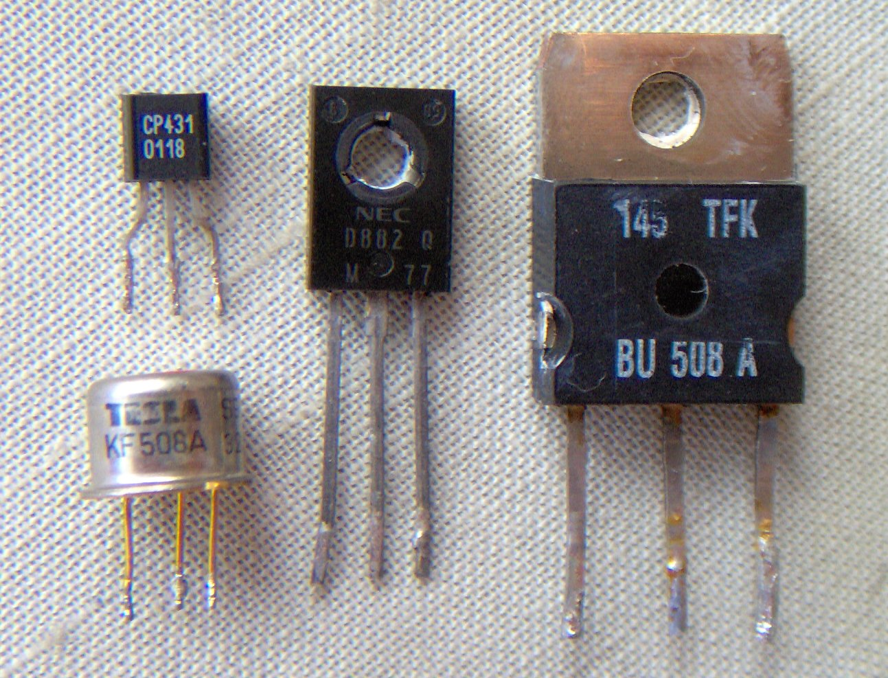 Picture of Important Step: Transistors