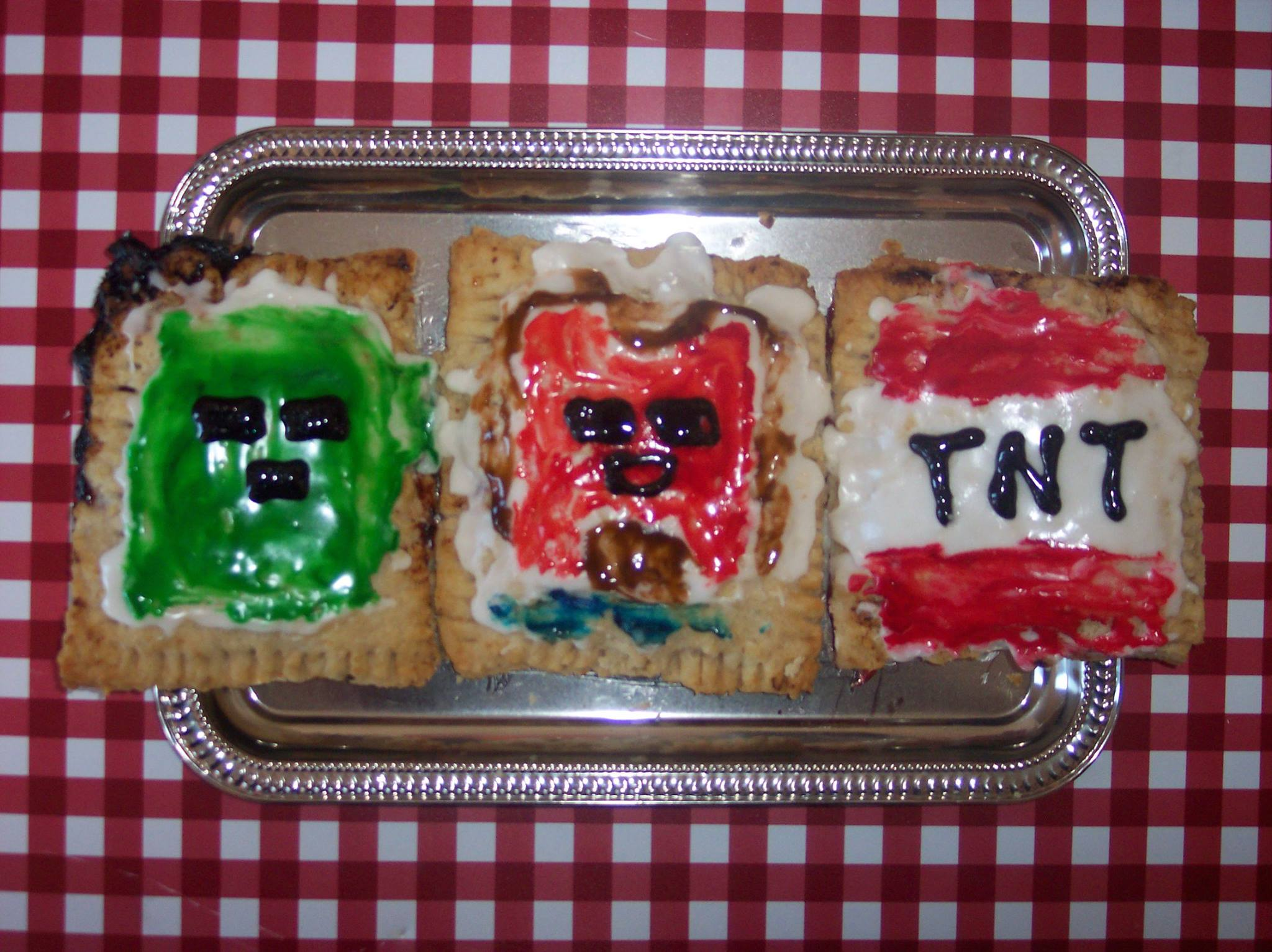 Picture of Frost and Design Minecraft Pop Tarts