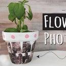 Make a Flower Pot Photo Gift