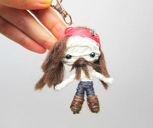 Jack Sparrow Voodoo String Doll