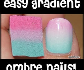 Create an easy ombre manicure at home!