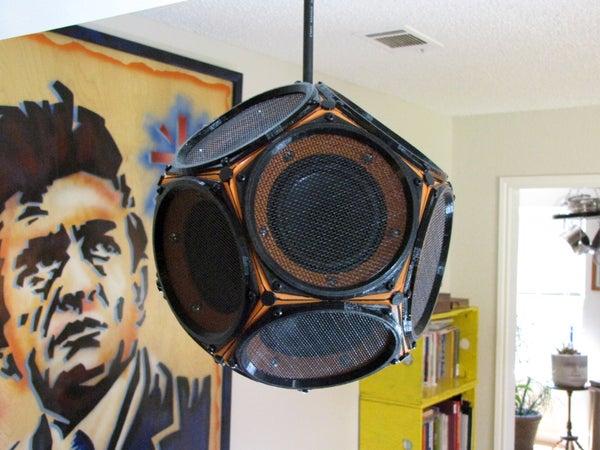 A Dodecahedron Speaker for Desktop Printers