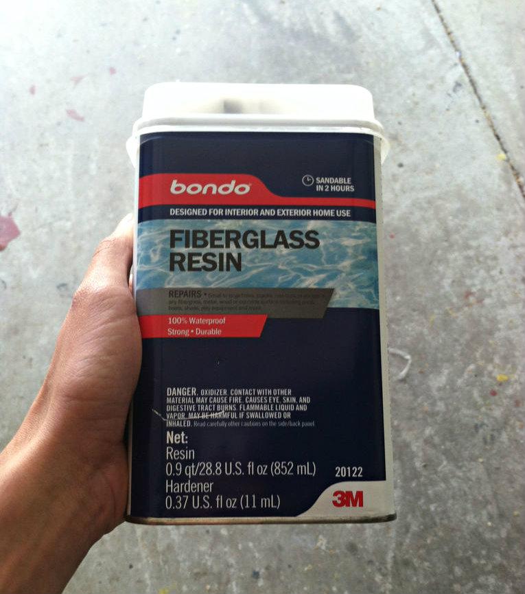 Picture of Fiberglassing