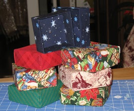 Make Fabric Gift Boxes