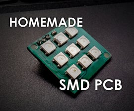 Making SMD PCBs at Home (Photoresist Method)