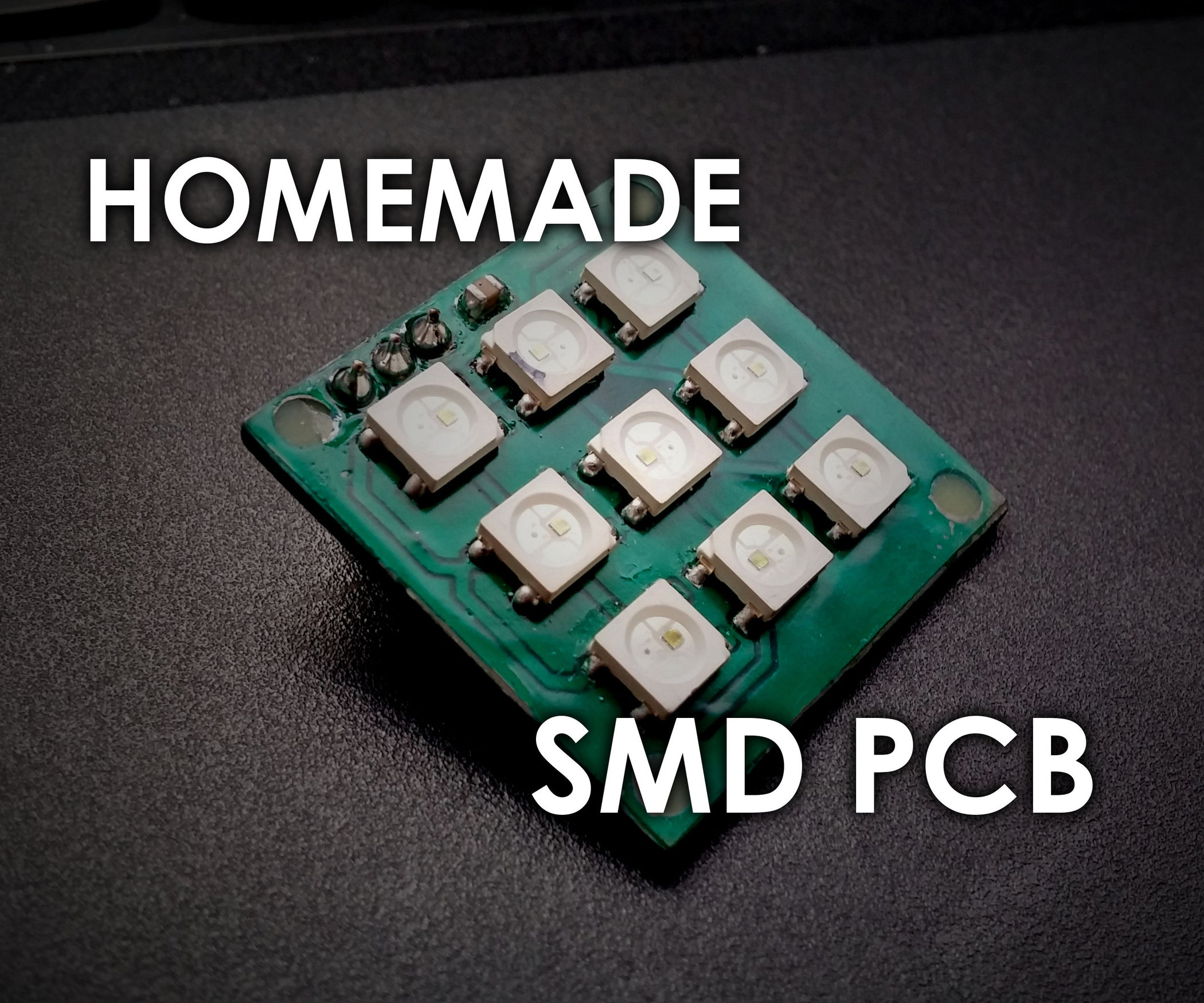 Making Smd Pcbs At Home Photoresist Method 12 Steps With Pictures Double Sided Pcb 2layer Printed Circuit Boards Fabrication Of