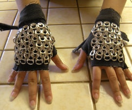 Fingerless Chainmaille Gloves