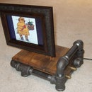 "Steam Punk Digital 8"" Picture Frame"