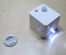Staircase Night Lamp - Very Low Power and 2 Sensors