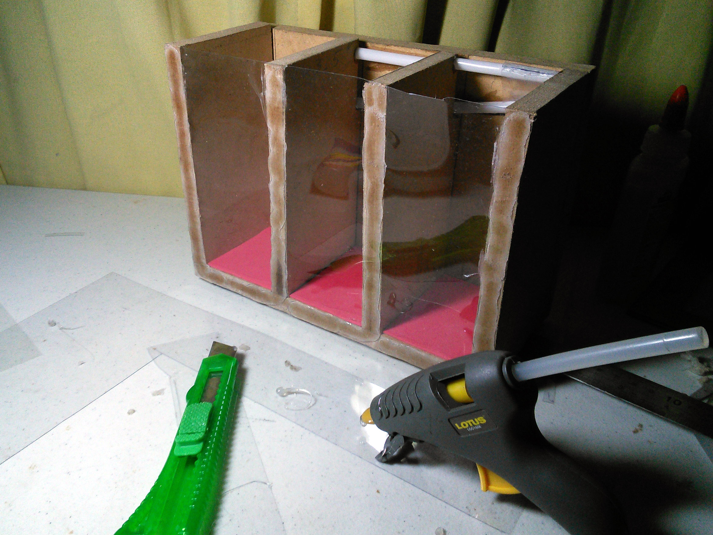 Picture of Adding a See-Through Wall