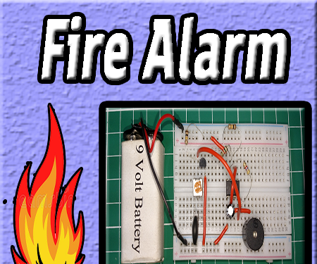 Fire Alarm Circuit Diagram | Ic 555 | Electronics Projects