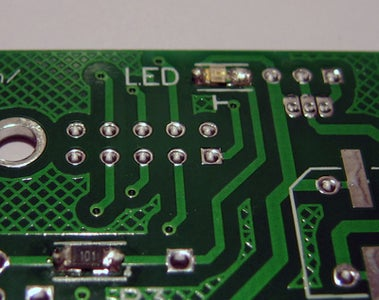 Step 1. Soldering Small SMD Parts (bottom Side of PCB)