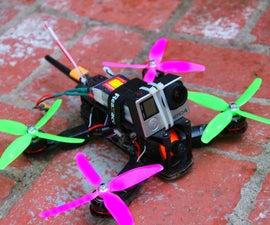 How to build a 210 Quadcopter