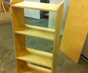 Super Simple Plywood Shelf