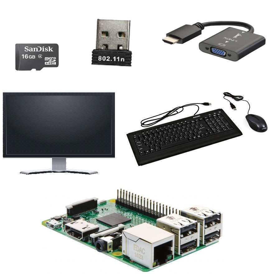 Picture of Getting Started With Raspberry Pi B+ With NOOBS OS Installation