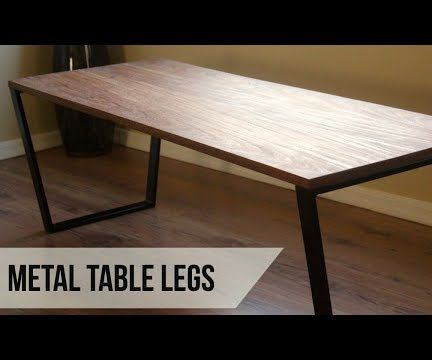 Making Metal Coffee Table Legs: 11 Steps (with Pictures)