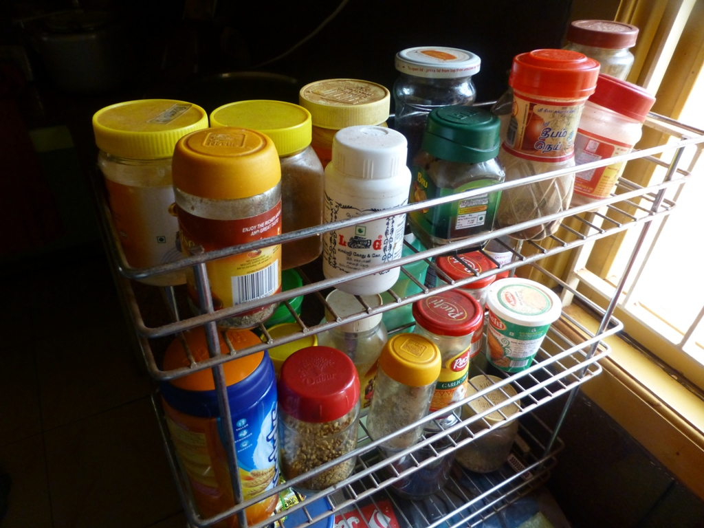 Picture of Your Kitchen Shelf Is a Small Medicine Cabinet