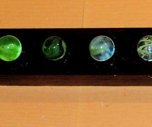 Binary Marble Clock