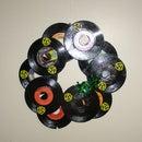 45 Record Wreath