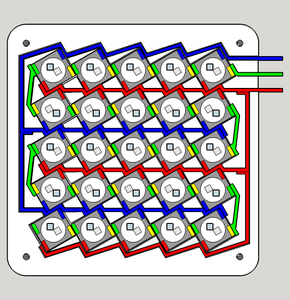 LED Matrix Assembly