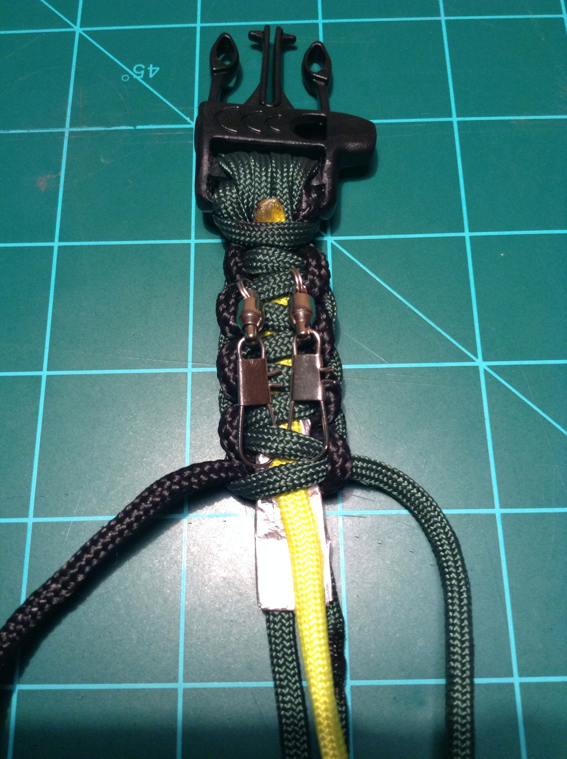 Picture of Begin Tying and Adding Supplies
