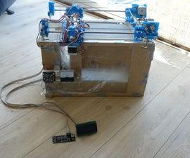 Focus, an experimental powder printing platform