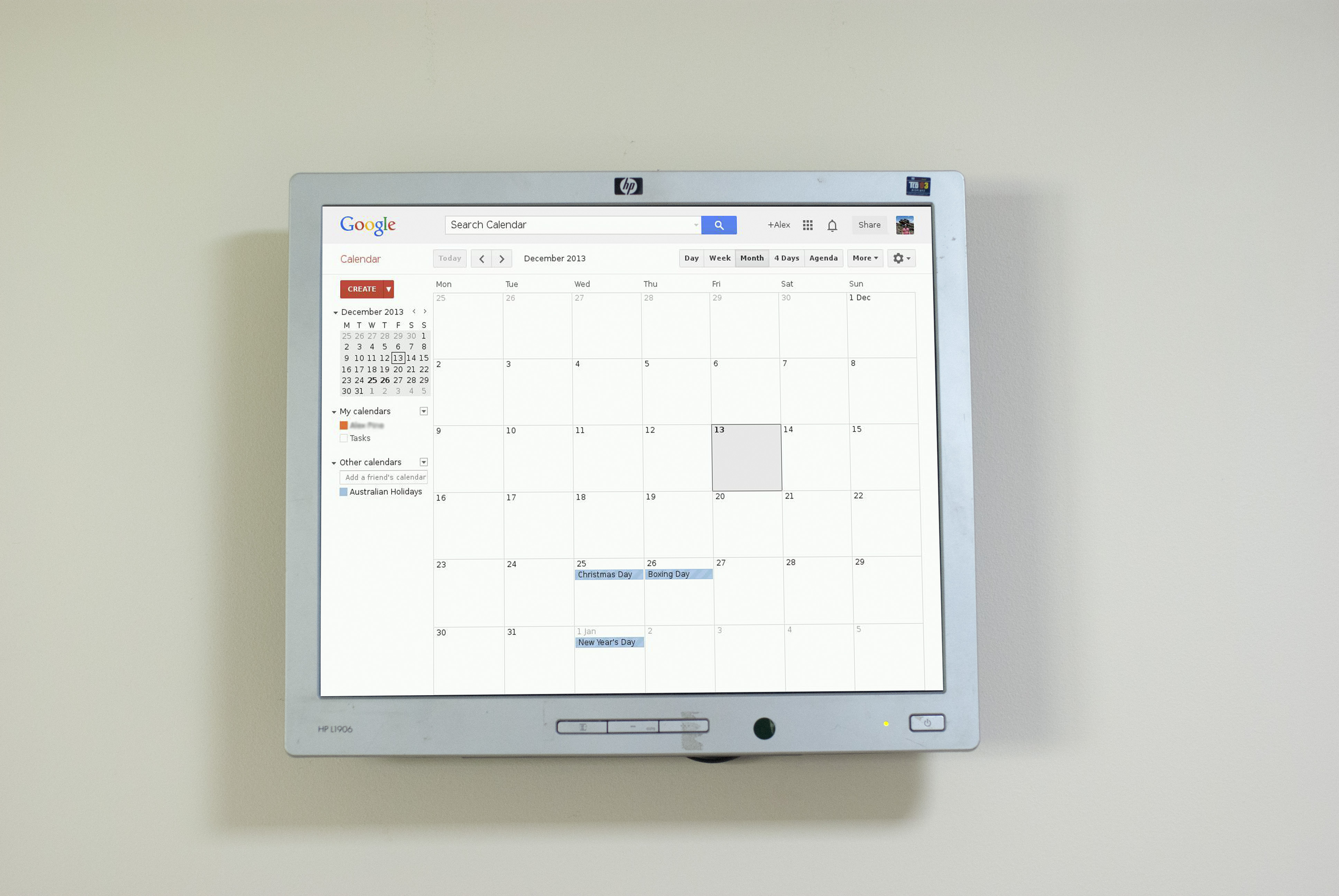 Raspberry Pi Wall Mounted Google Calendar: 6 Steps (with Pictures)