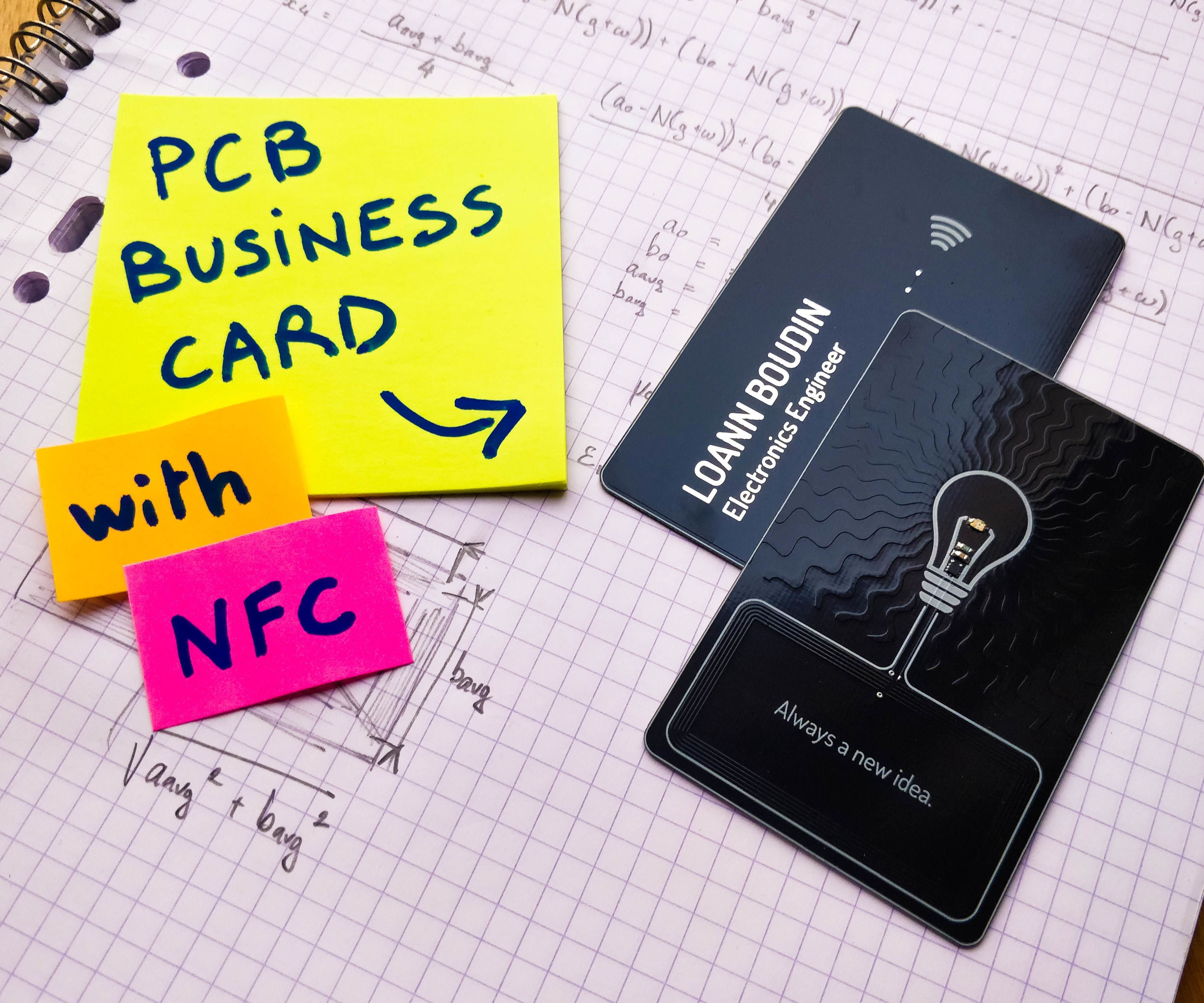 Pcb Business Card With Nfc 18 Steps With Pictures Instructables