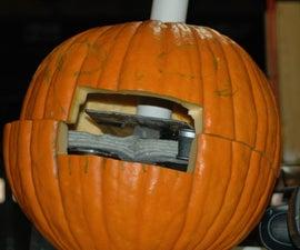 Candy Launching Pumpkin: How to make