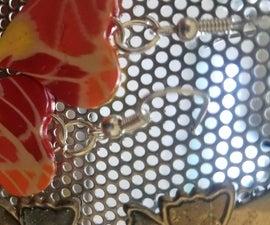 Polymer Clay Mosaic Earrings