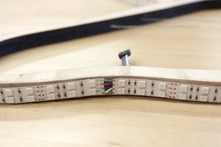 Attach the LED Strip