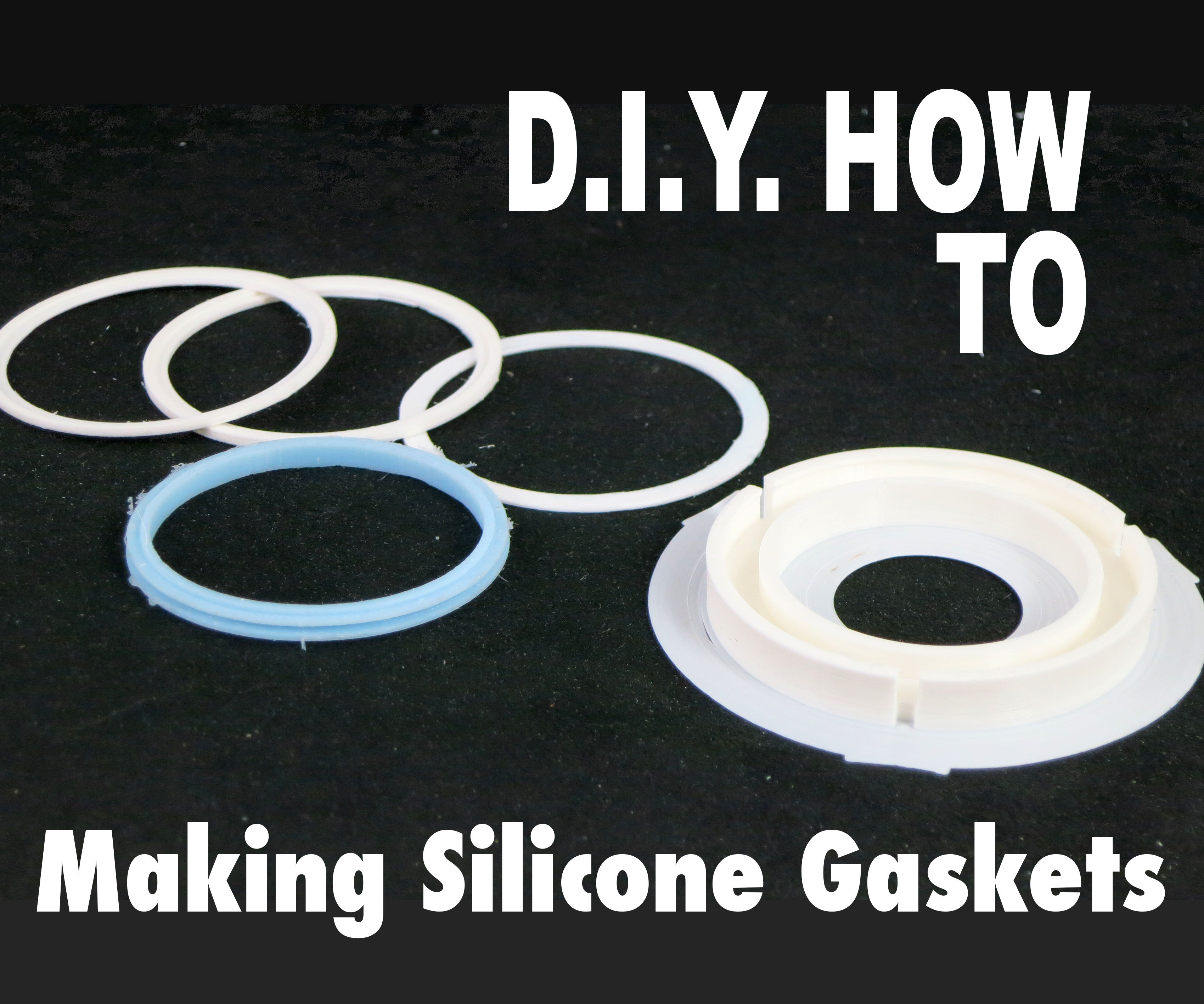 Making a Custom Silicone Gaskets in a 3D Printed Mold: 5