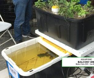 Aquaponic BALCONY GARDEN